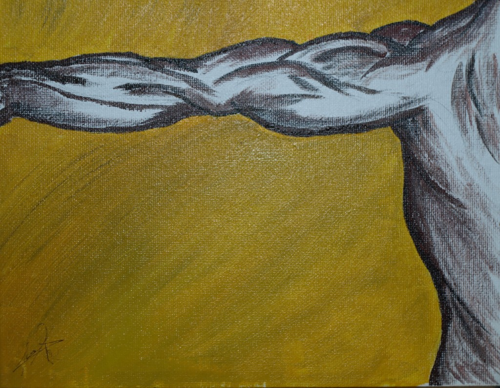 """""""Outstretched"""" - 8x10 - 1/1/08"""